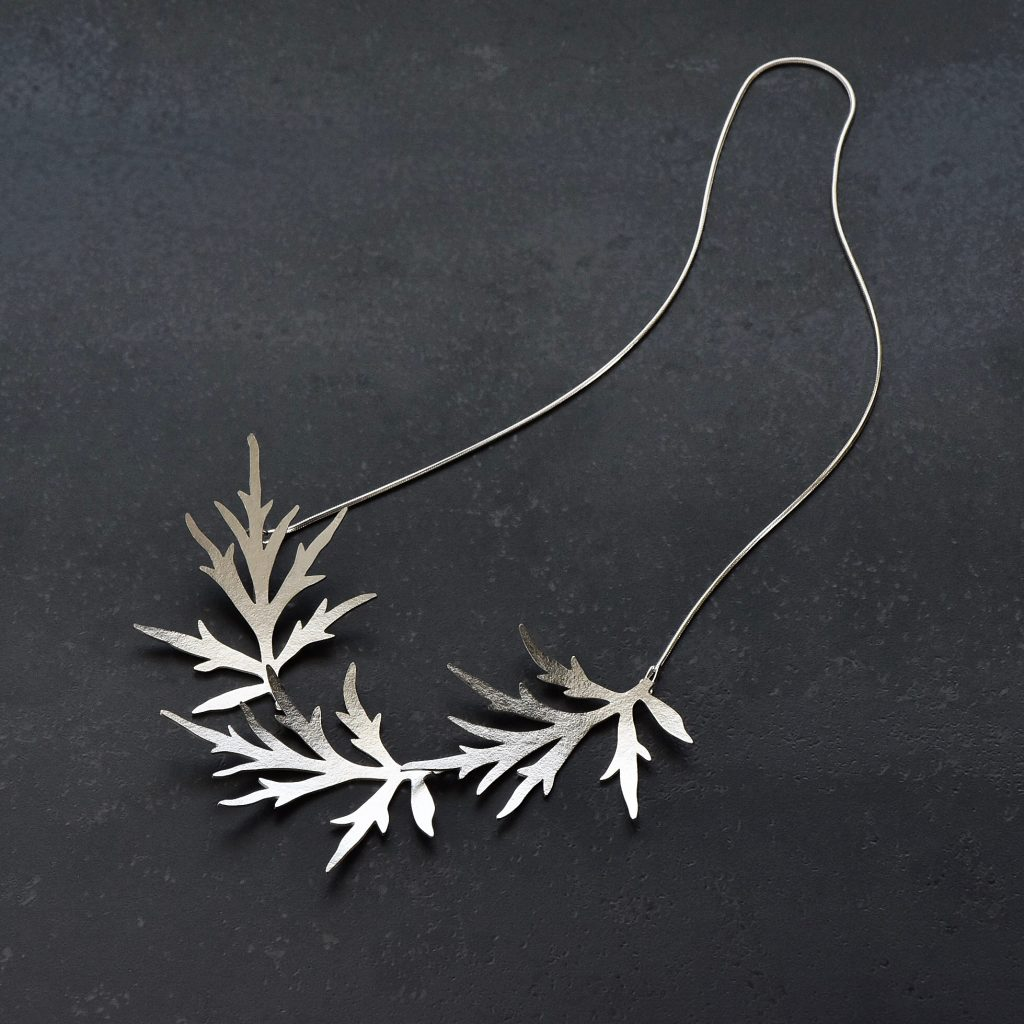 Necklace silver 2018